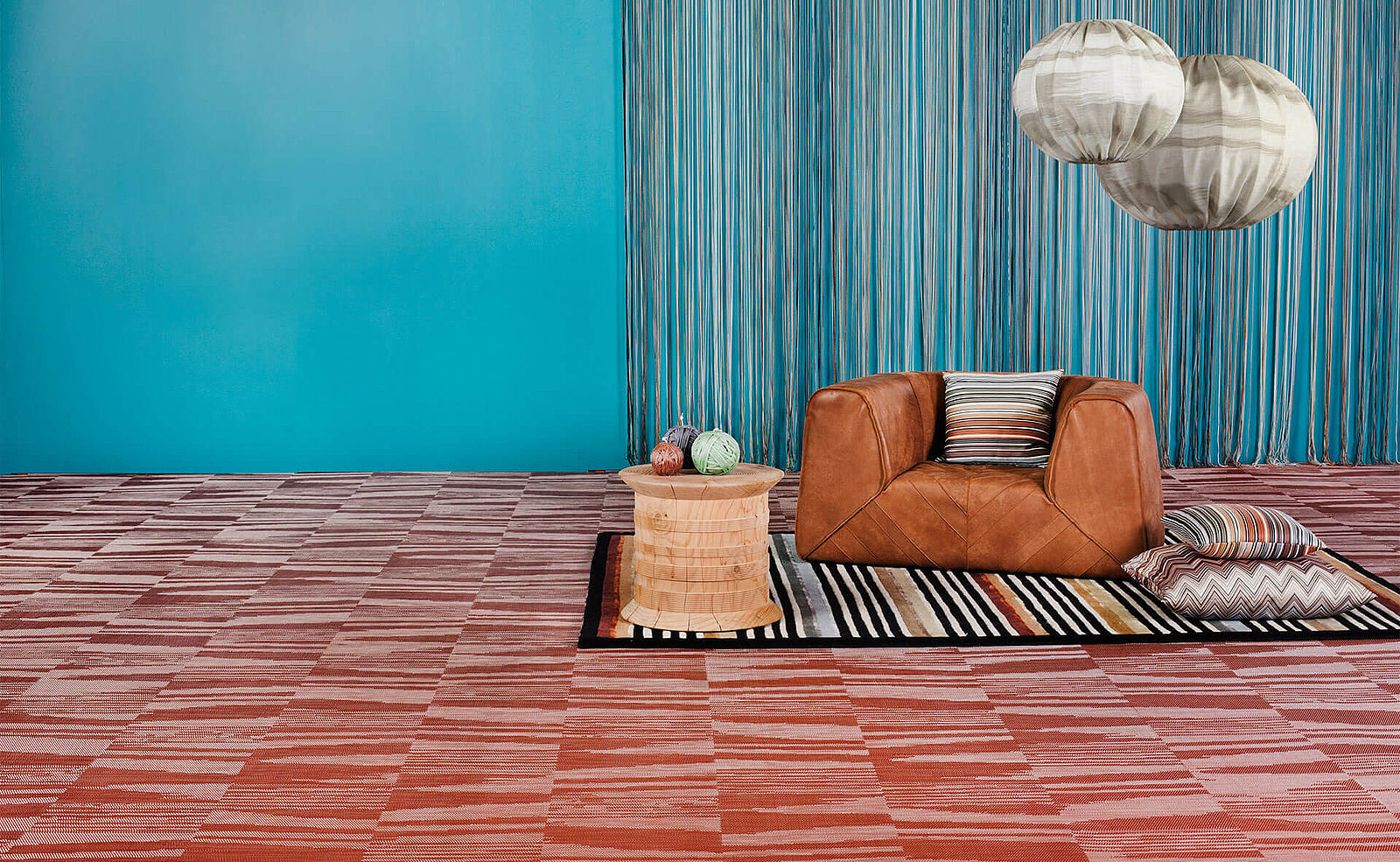 BOLON BY MISSONI – BODENBELAG FLAME RUST