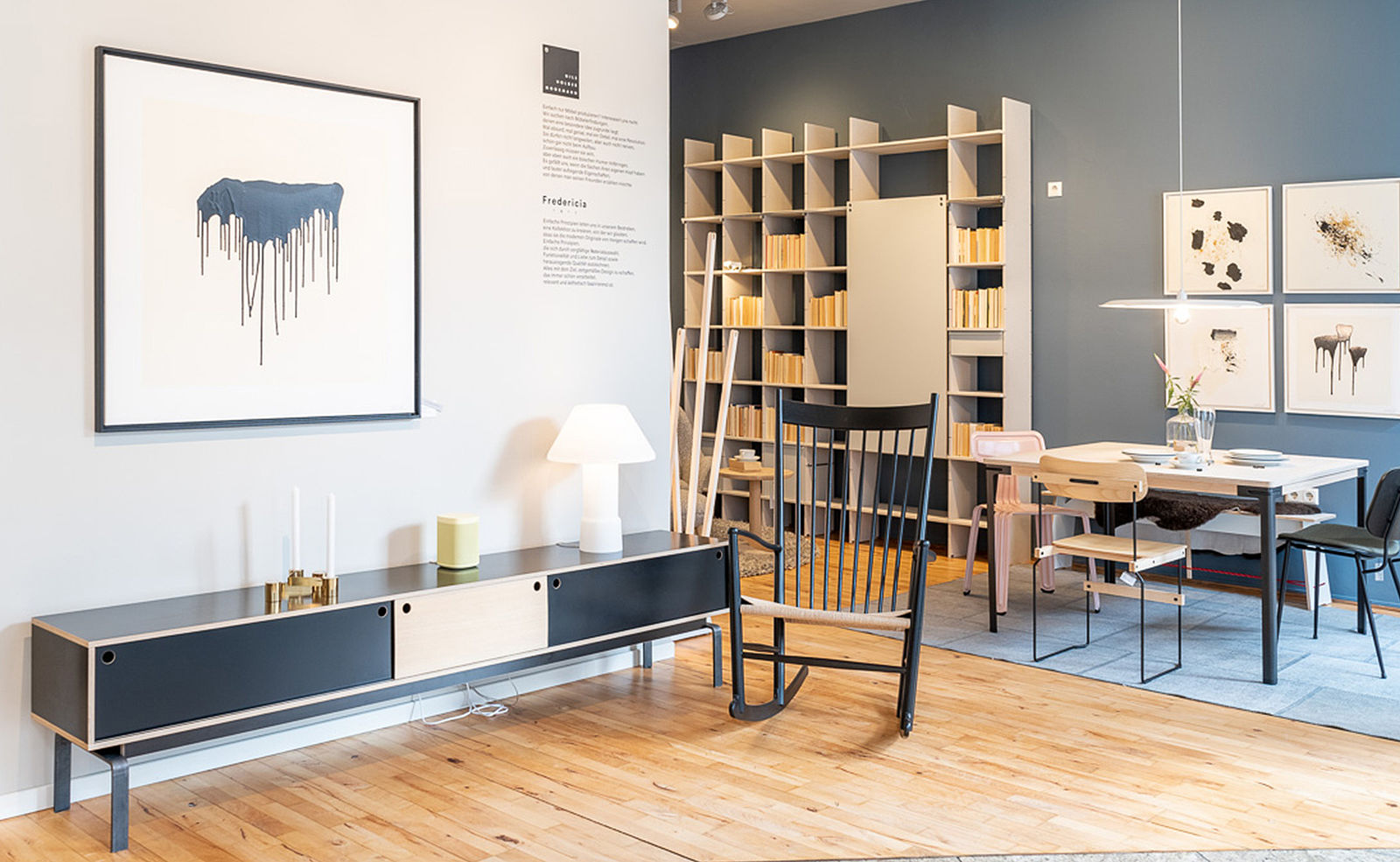 Showroon im Flagshipstore Moormann & Fredericia | POPO.DE